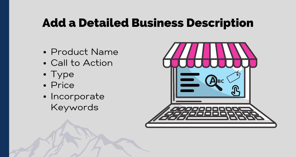 Add a Detailed Business Description
