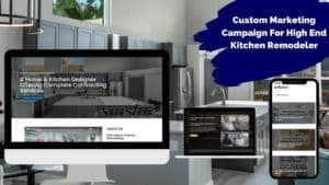 Kitchen Remodeling Company SEO And Digital Marketing Case Study