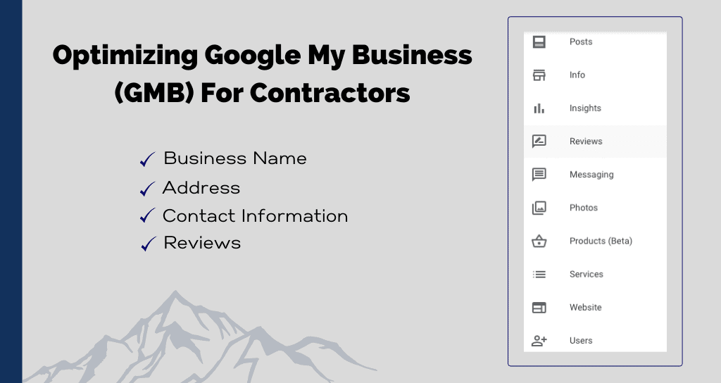 Optimizing Google My Business (GMB) For Contractors